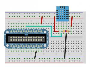 Sensor dht11 wiring